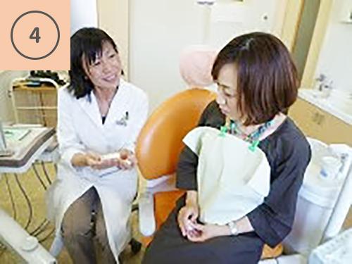 歯科医師が説明します。