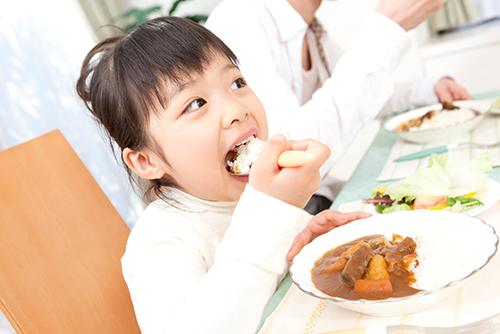 良い歯並びを育成する食事指導